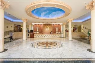 Cupola of the Hotel Palm Beach, Benidorm. Spain.